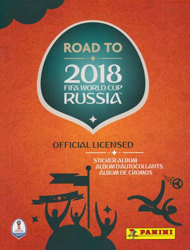 パニーニ 2017 Panini Road to 2018 World Cup Soccer Stickers Album ステッカー専用アルバム 4/26入荷