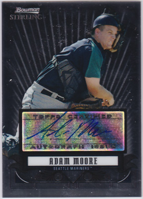 アダム・ムーア 2008 Bowman Sterling Prospects Auto Adam Moore