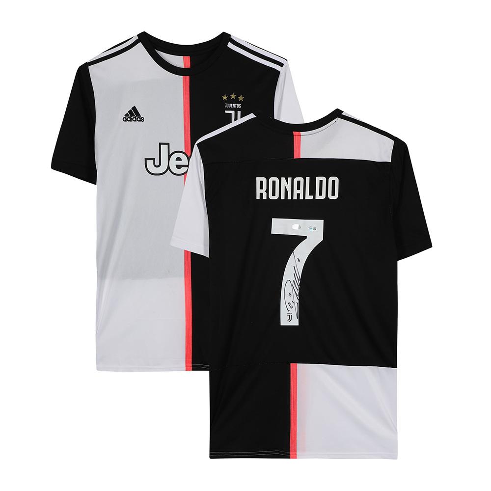 クリスティアーノ・ロナウド 直筆サイン入りユニフォーム 2019-20 ユヴェントス ホーム (Cristiano Ronaldo Juventus F.C. Fanatics Authentic Autographed 2019-20 Home Authentic Jersey) 1/20入荷!
