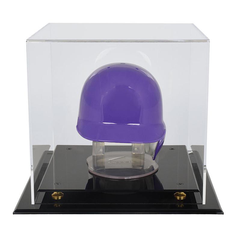 ウルトラプロ (Ultra Pro) ミニヘルメットケース ミニバスケットボールケース ライザー #84899 | Mini Basketball & Mini Helmet Riser Display