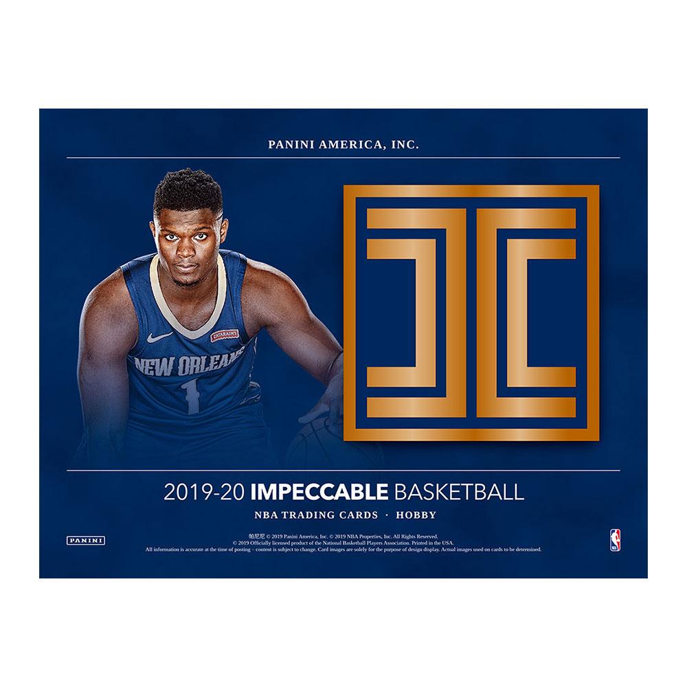 NBA 2019-20 Panini Impeccable Basketball 3/11入荷!八村塁封入!