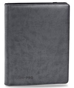 ウルトラプロ (Ultra Pro) MTG マジック・ザ・ギャザリング プレミアム プロ バインダー グレー #84198 | Premium 9-Pocket Bright Grey PRO-Binder