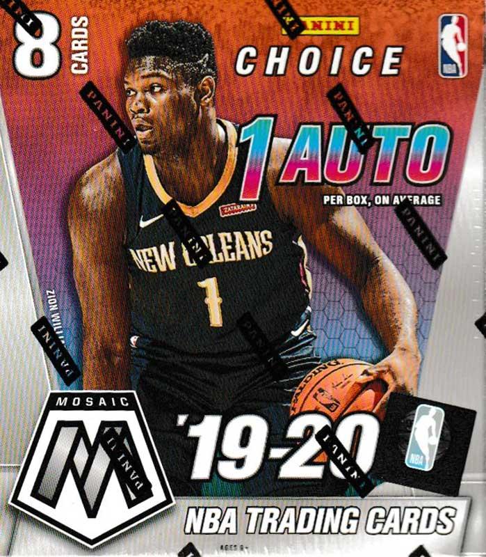 NBA 2019-20 Panini Mosaic Basketball Choice 5/22入荷