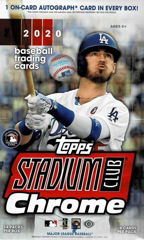 MLB 2020 Topps Stadium Club Chrome 12/9入荷!
