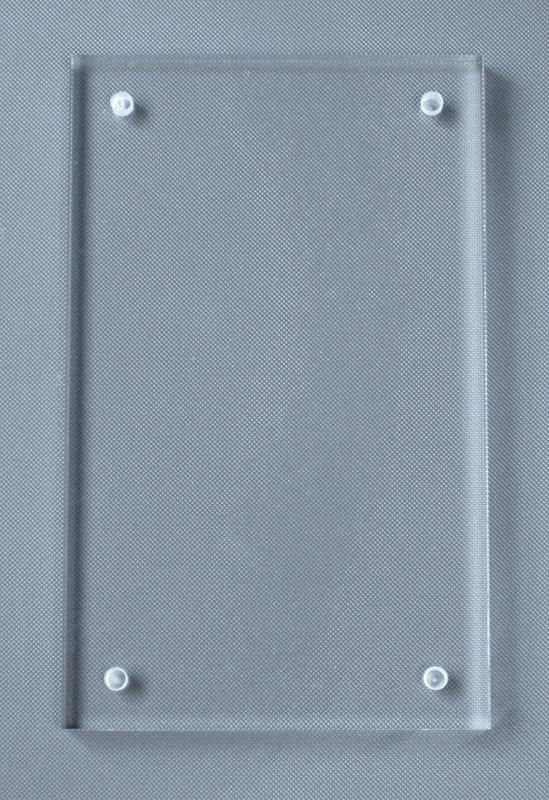 ウルトラプロ UV ルサイト・スクリューダウン 35pt プラスティックフレーム付  #15662 | Lucite Brik UV Screwdown 35PT