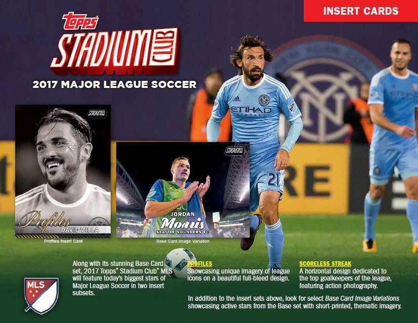 サッカーカード 2017 Topps Stadium Club MLS Soccer 9/20入荷!