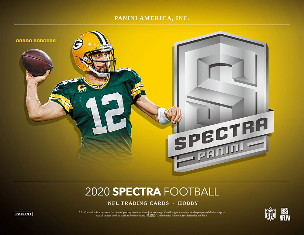 NFL 2020 Panini Spectra Football 10/16入荷!