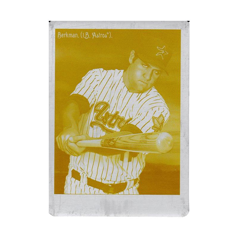 ランス・バークマン 2009 UD Goodwin Champions Yellow Printing Plates 1/1 Lance Berkman