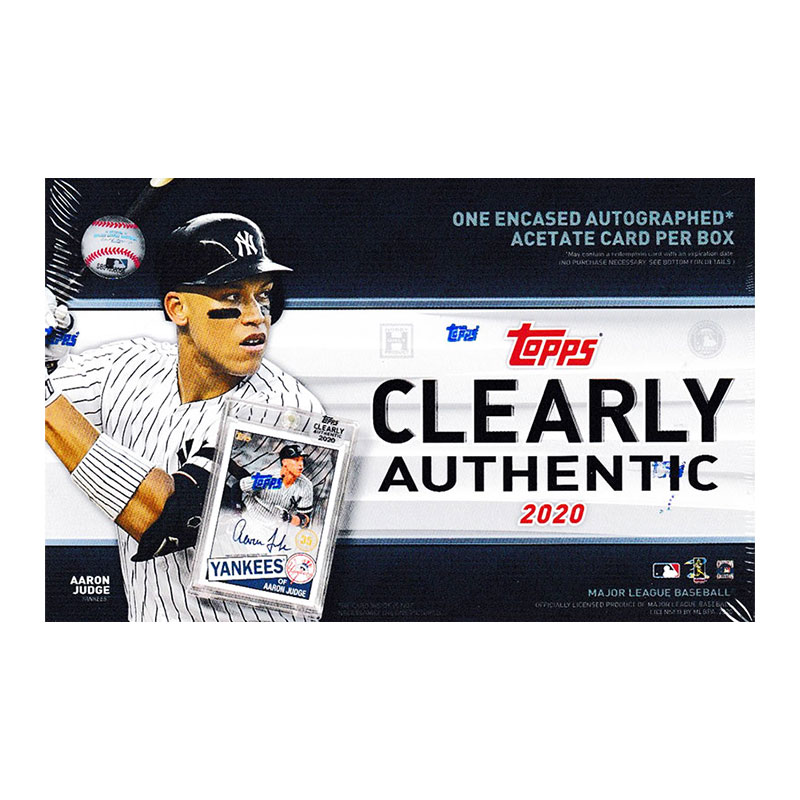 MLB 2020 Topps Clearly Authentic 6/24入荷!