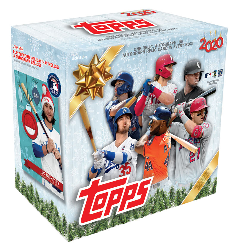 MLB 2020 Topps Holiday Baseball Mega Box 1/4入荷
