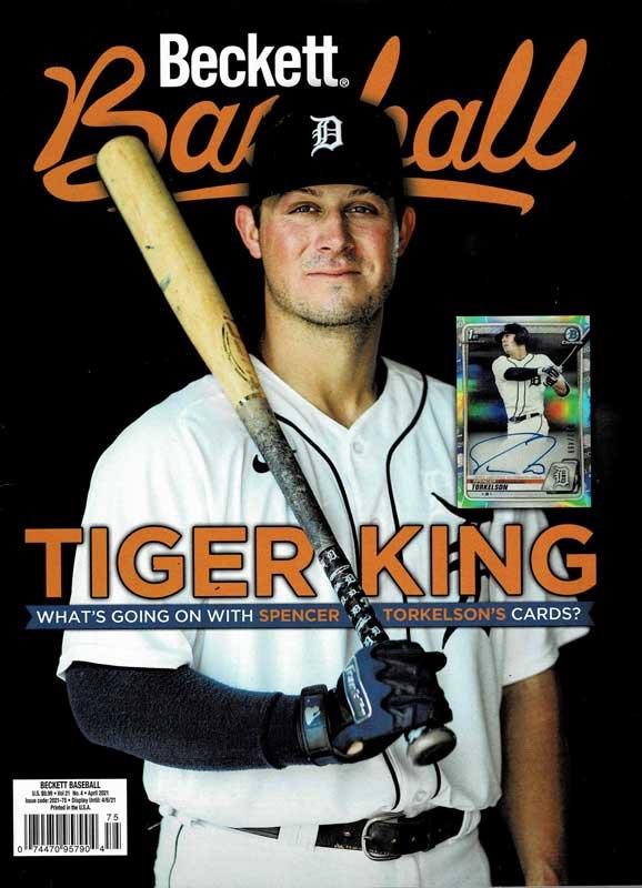【MLBベケット】 MLB Beckett Plus #181 2021年 4月号 2/16入荷