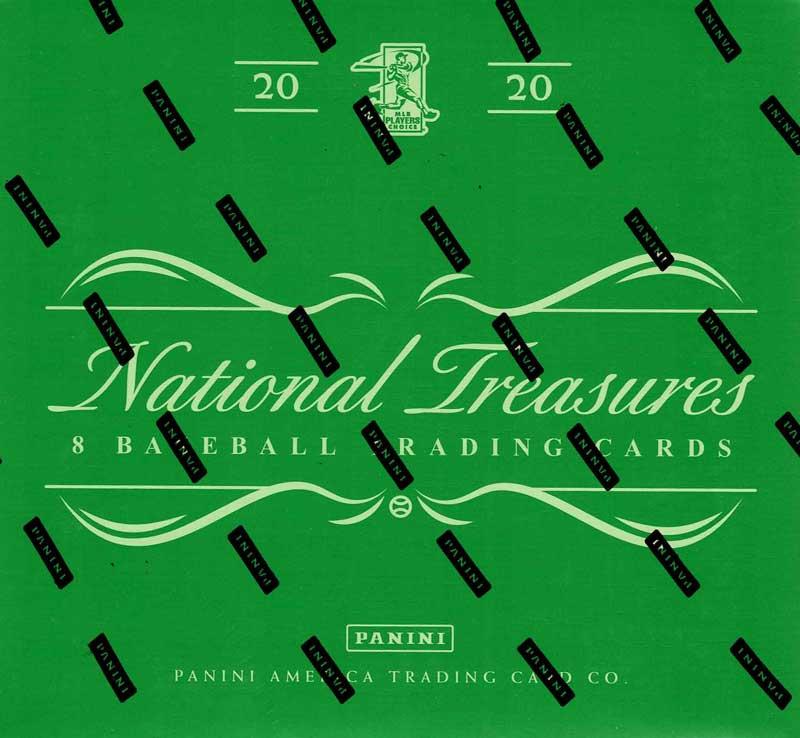 MLB 2020 Panini National Treasures Baseball 11/4 入荷!
