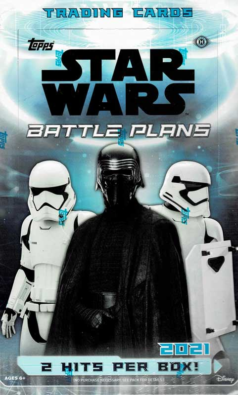 スター・ウォーズ 2021 Topps Star Wars Battle Plans トレーディングカード 9/15入荷!