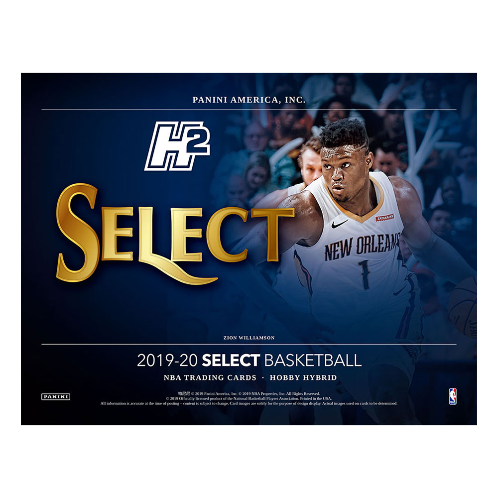 NBA 2019-20 Panini Select Basketball Hobby Hybrid