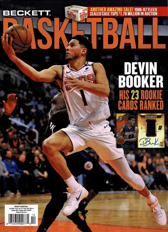 NBA Beckett Plus #337 2020年 10月号 (ベケット) 9/8入荷 !!