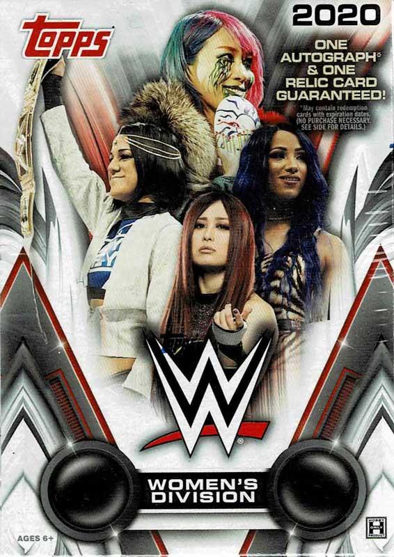 プロレスカード WWE 2020 Topps WWE Women's Division ボックス (Box) 5/14入荷