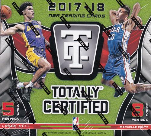 NBA 2017-18 Panini Totally Certified Basketball