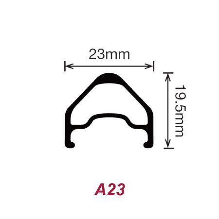 【ストレイトプル・ハブ】700c リムブレーキ F20R24Hリム