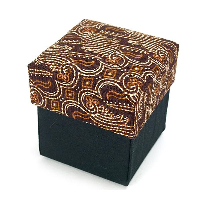BOX SET アタ5cm用(Batik brown)※オーガンジー付き(単品での購入不可・ガムランボールと一緒に必要数のみでご購入下さい)