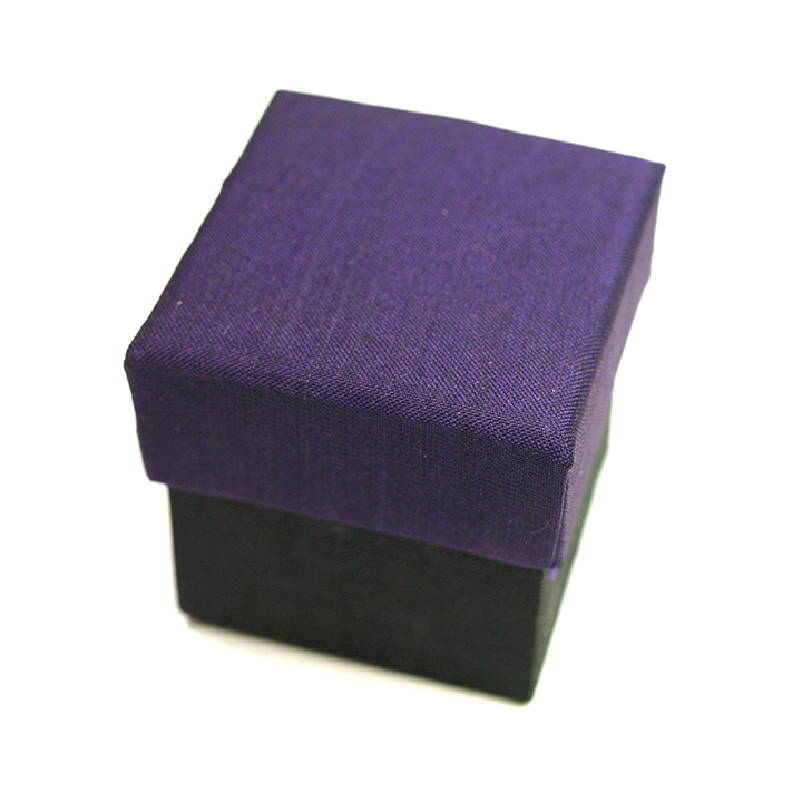 BOX SET アタ5cm用(dark purple)※オーガンジー付き(単品での購入不可・ガムランボールと一緒に必要数のみでご購入下さい)