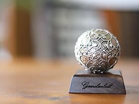 ガムランボール ARABESUQUE antique(LL)※ボックス、シルバークロス付き◆