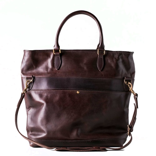 キムタクLEATHER NELSON 2WAY BAG / BROWN