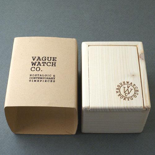 VAGUE WATCH Co.・VABBLE STAINLESS・レザーベルトCGカスタム・自動巻き
