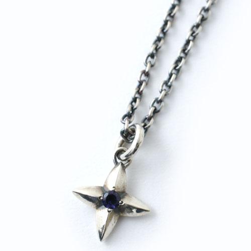STAR-CROSS IOLITE NECKLACE / 佐藤健さん着用モデル