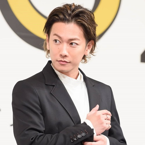 LINK RING SMALL 佐藤健さん着用モデル