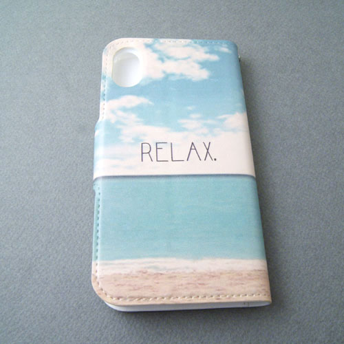 SMILE BEACH iPhone各種・手帳型タイプ