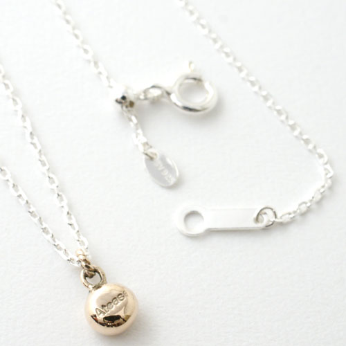 SUNSHINE PAIR NECKLACE K10/SV