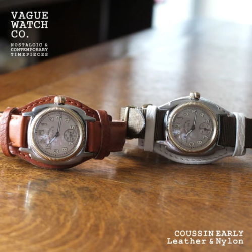 VAGUE WATCH Coussin Early and Coal