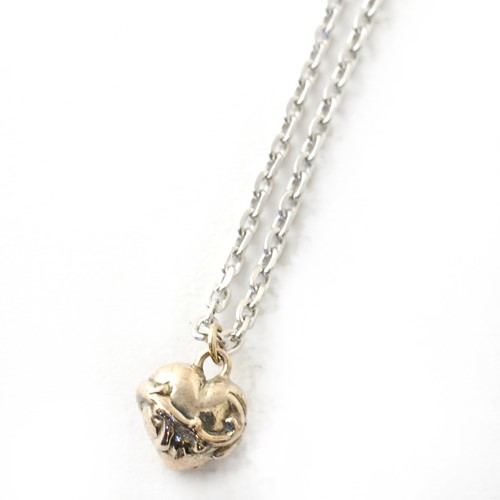SACRED HEART NECKLACE K10gold