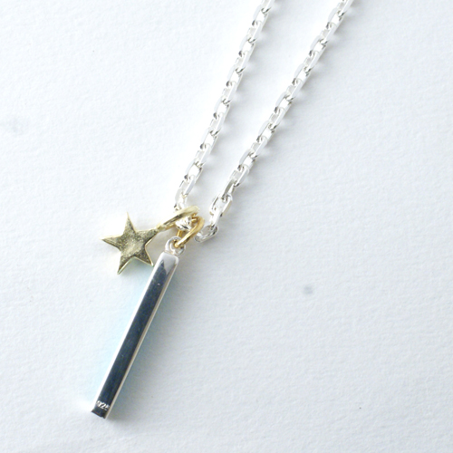 TURQUOISE BAR STAR NECKLACE