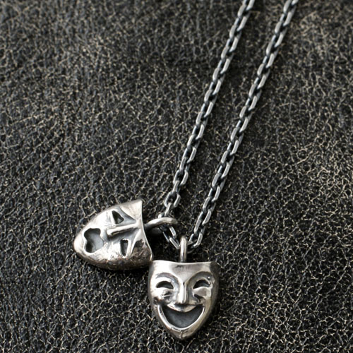 TWO FACE NECKLACE