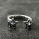 2 STARS UP RING・コディサンダーソン・2スターズアップリング。武田真治さん着用モデル