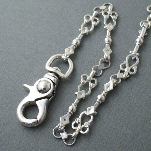 "The catch chain ""Montsegur"" sterling silver"