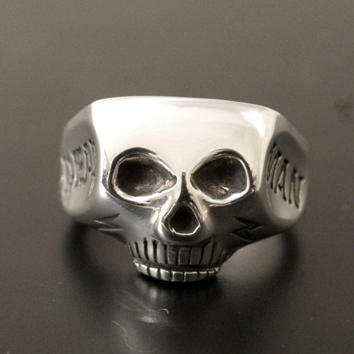 JIM SKULL RING DEAD MAN
