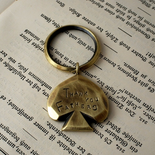 FATHER DAY KEY RING