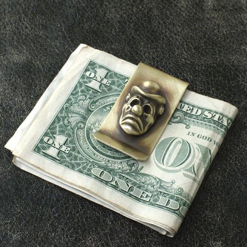molliveHeavyOz×LuckyRudy PIERROT MONEY-CLIP CG-LIMITED