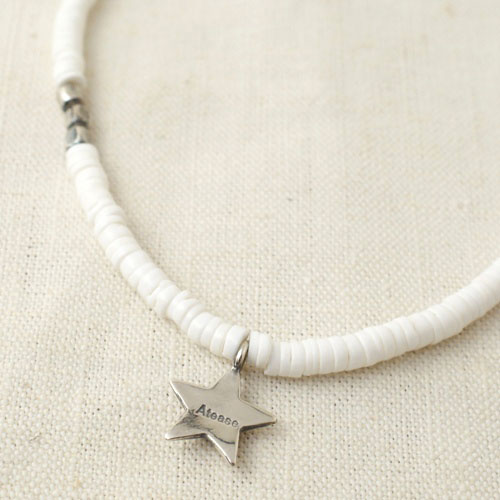 NEW MILITARY STAR ANKLET LIMITED WHITE