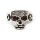 JIMSKULL RING JOHNNY DEPP MODEL/ルビー
