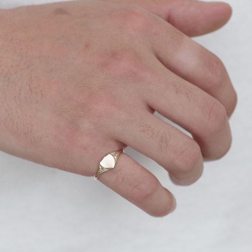 SIGNET RING CREST-GOLD