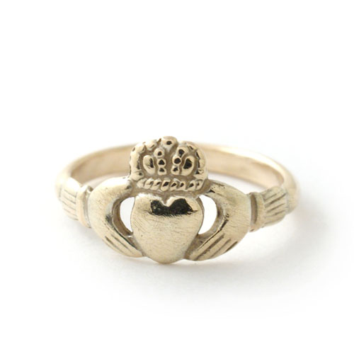SIGNET RING CLADDAGH-GOLD