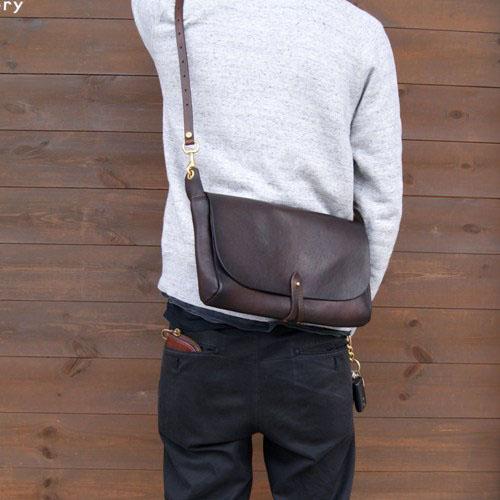 LEATHER 3WAY CLUTCH BAG