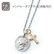 14TH別注LIVERTY HEAD & CROSS CZ NECKLACE
