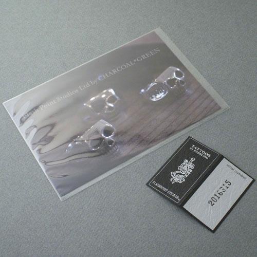 FLATSKULL RING-SE -ジルコニア-