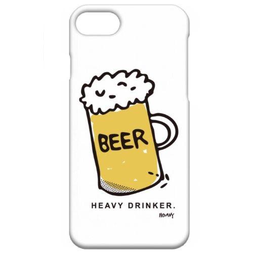 HEAVY DRINKER iPhone case