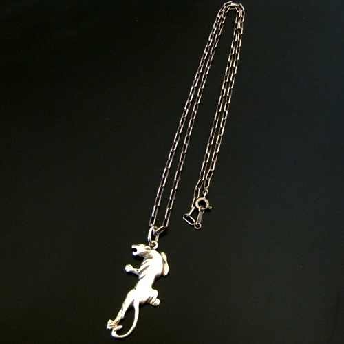 PANTHER CHARM-silver