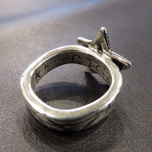 SMALL STAR&CAT SCRATHSQUARE RING